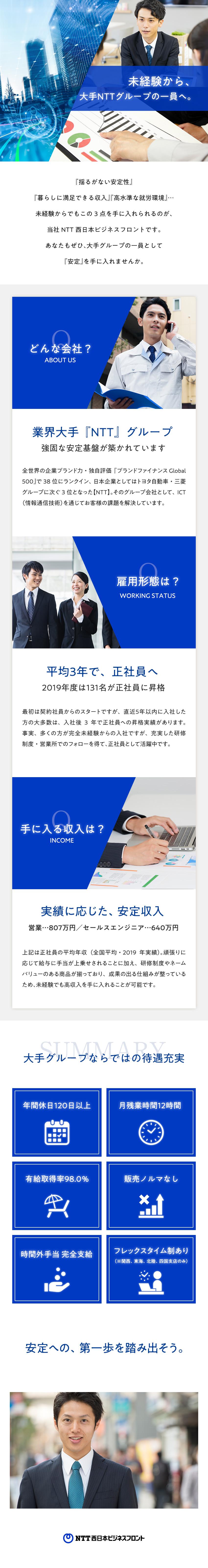 西日本 年収 ntt